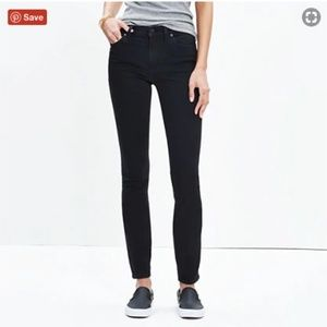 MADEWELL BLACK FROST Denim in size 26